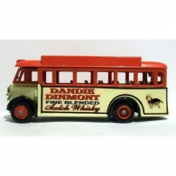 lledo-aec-regal-bus-dandie-dinmont-scotch-whisky-nice-code-3-model